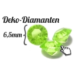 Deko Diamanten 6,5mm