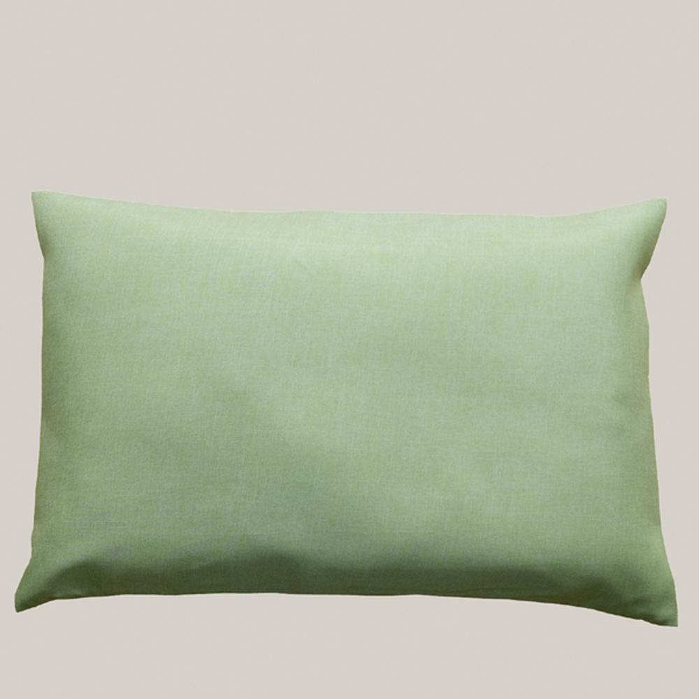 Kissenhülle - 40 x 60 cm Kissenhülle, hellgrün - Polyester / matt ...