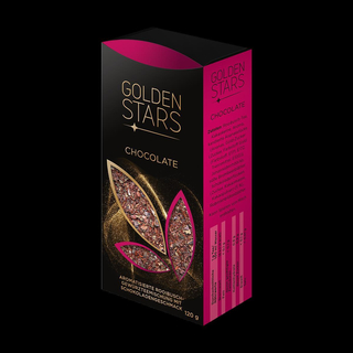 Golden Stars - Chocolate
