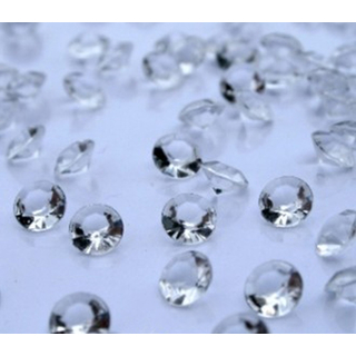 1000 transparente Deko Diamanten 4,5mm