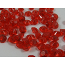 1000 rote Deko Diamanten 4,5mm