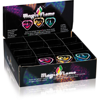 Magic Flame - 1 Kerze - Gelb
